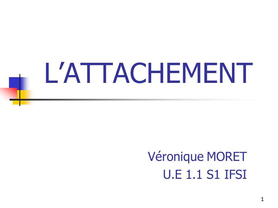 11 LATTACHEMENT Véronique MORET U.E 1.1 S1 IFSI