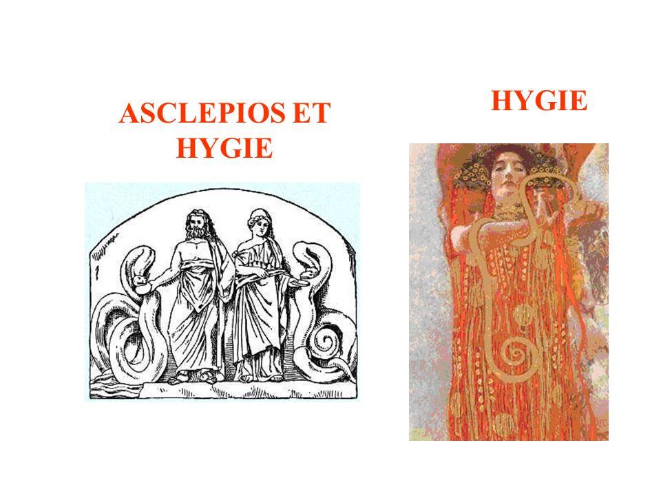 ASCLEPIOS ET HYGIE HYGIE