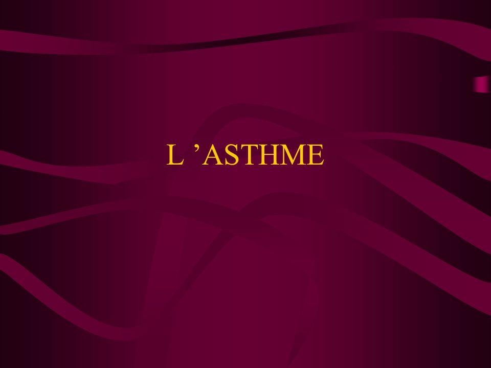 L ASTHME