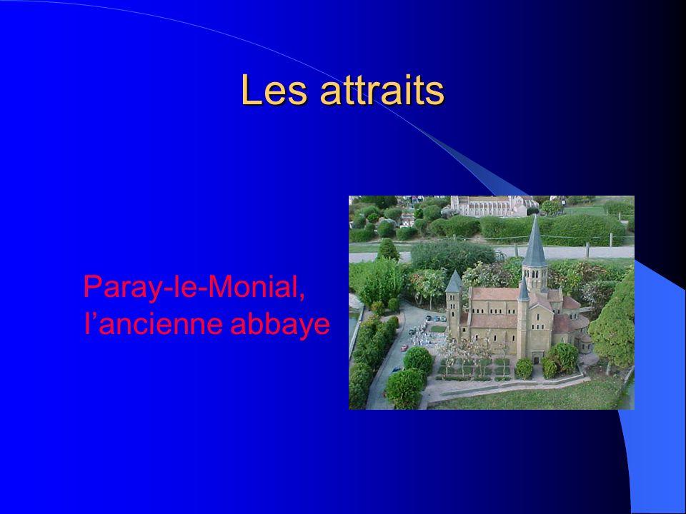 Les attraits Paray-le-Monial, lancienne abbaye