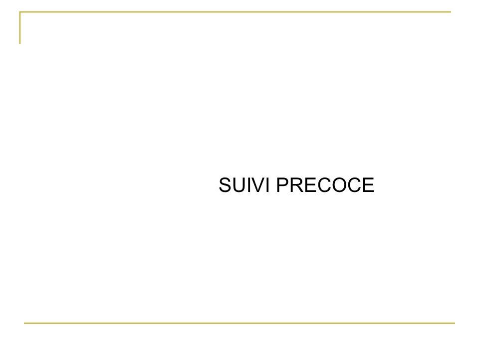SUIVI PRECOCE