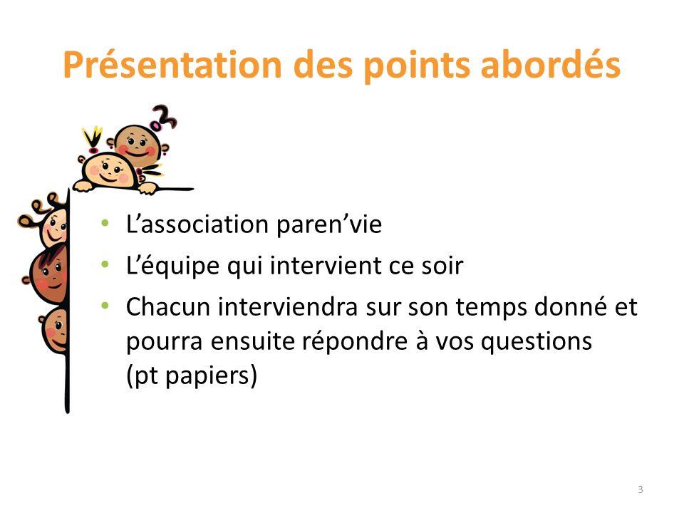 Parenvie Association crée en 2012 Danièle Ossonce et Pascale Roussarie soutien à la parentalité Sous forme dateliers (Faber et Mazlish) Cafés parents Conférences … 4