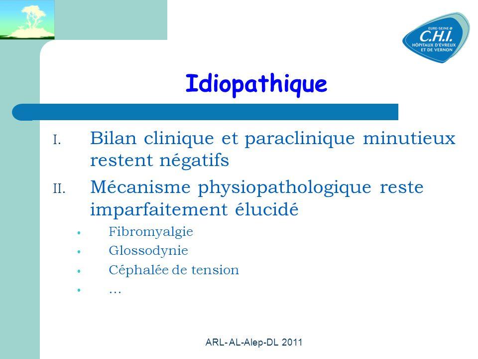 ARL- AL-Alep-DL 2011 22 Idiopathique I.
