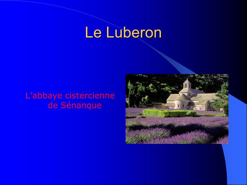 Le Luberon A mi-chemin entre les Alpes et la Méditerranée sétend la barrière montagneuse du Luberon, où des paysages lumineux et accidentés alternent