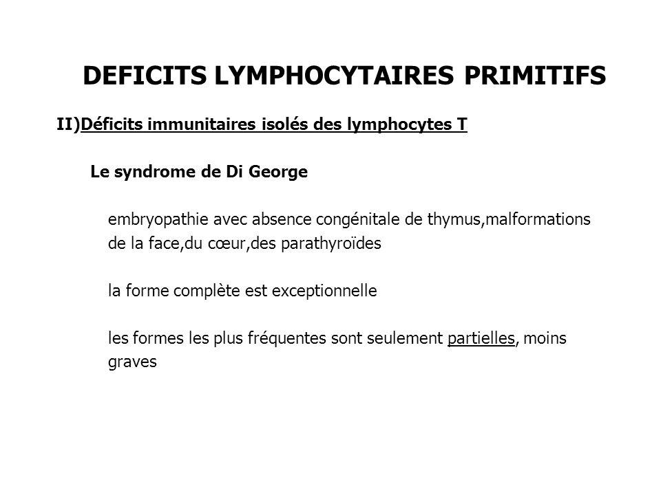 DEFICITS LYMPHOCYTAIRES PRIMITIFS III)Déficits immunitaires isolés des lymphocytes B 1) Déficit global = Maladie de Bruton ou Agammaglobulinénie liée au chromosome X: Gène responsable: le gène BTK(Bruton tyrosine kinase).