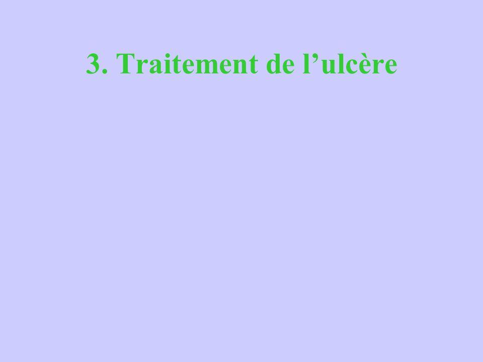 3. Traitement de lulcère