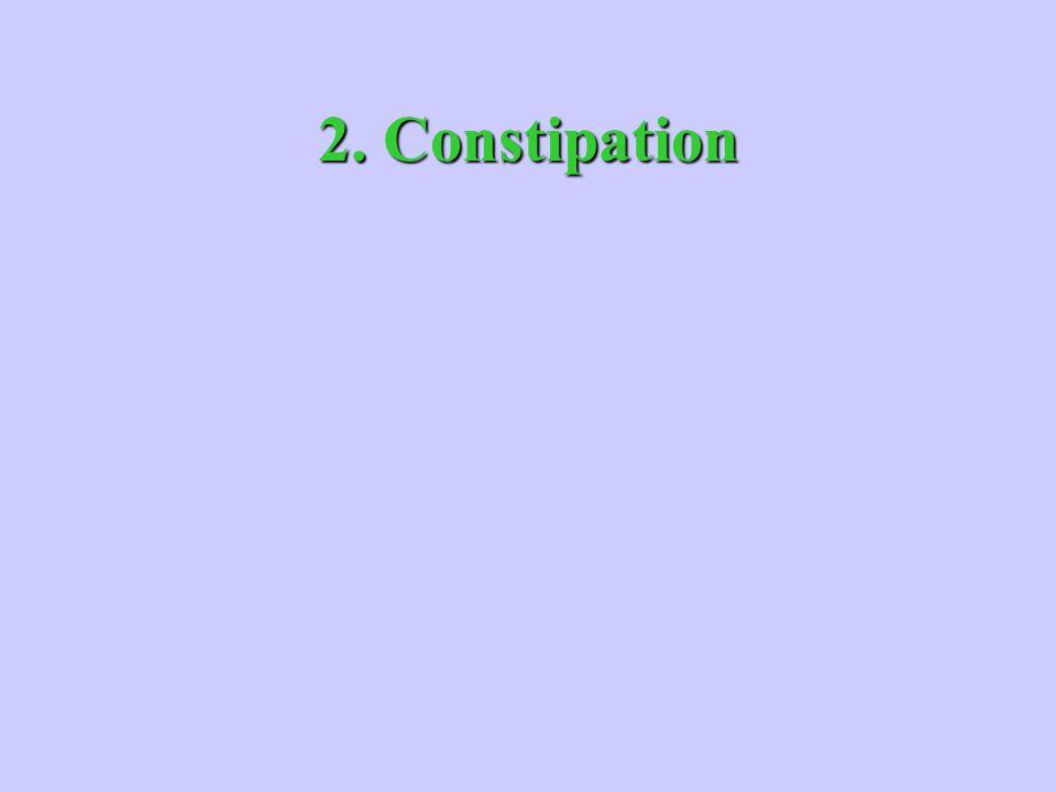 2. Constipation