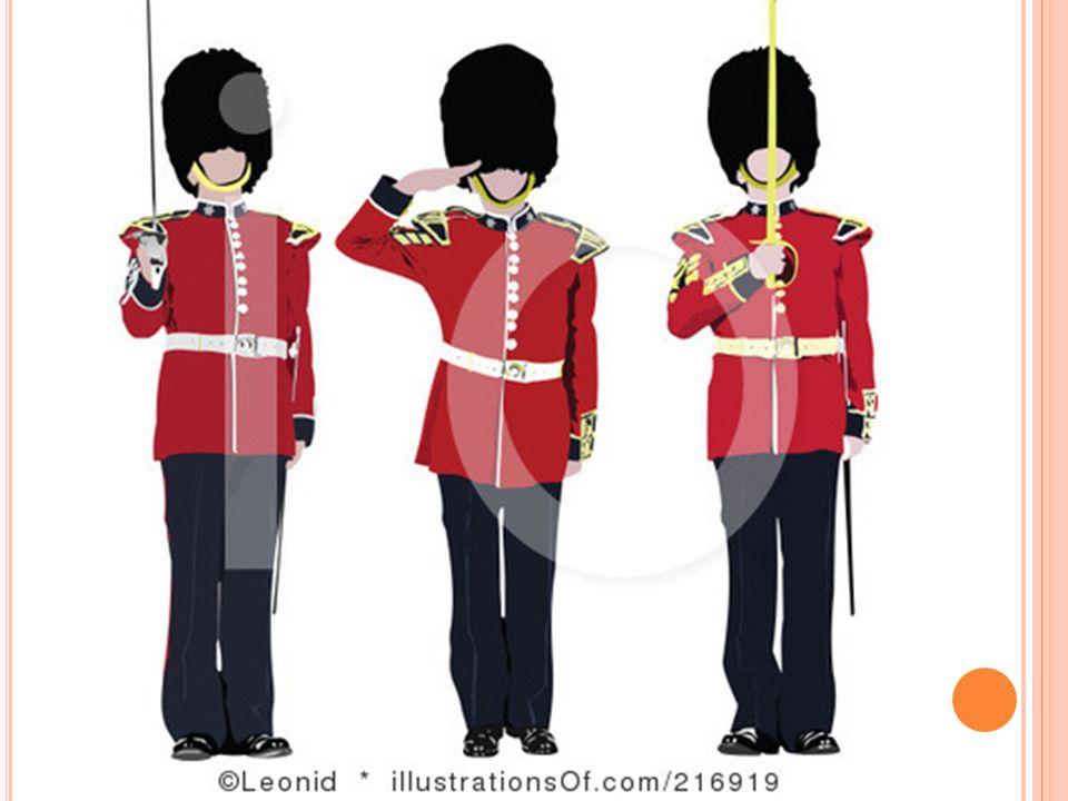 La Tour de Londres est sous la protection de gardes.