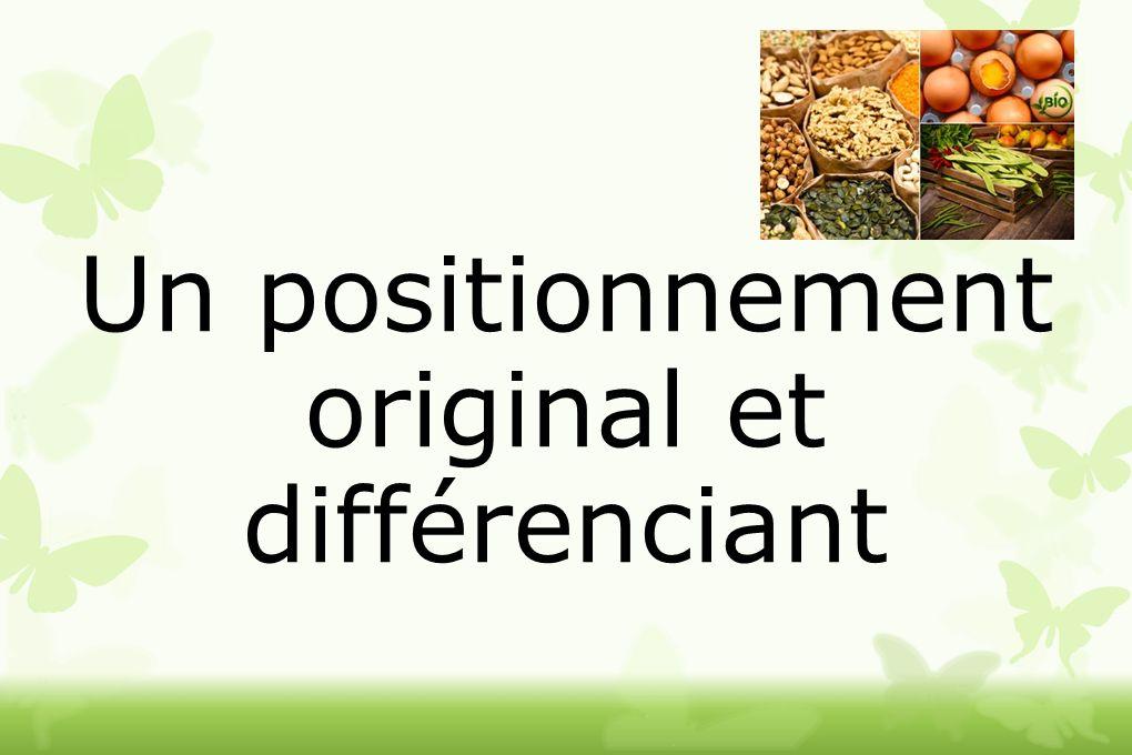 Un positionnement original et différenciant