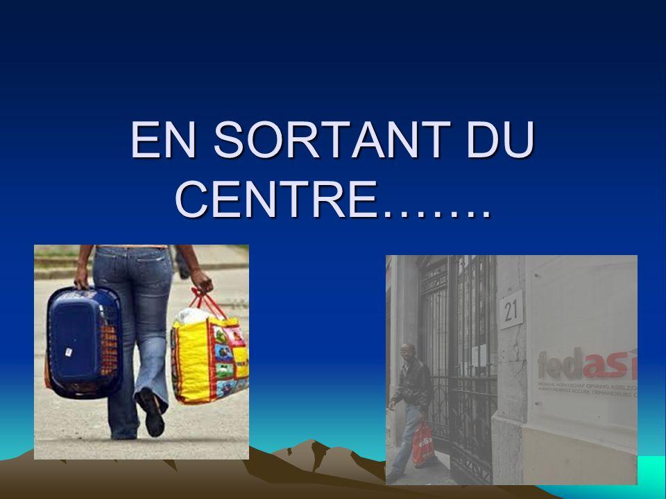 EN SORTANT DU CENTRE … La vie au centre …….. - Lhébergement - Le couvert