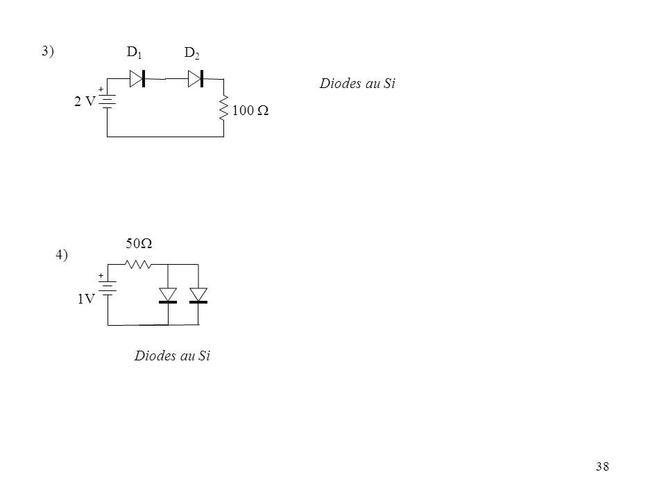 39 2.5 Comportement dynamique d une diode 2.5.1 Préambule : Analyse statique / dynamique dun circuit L Analyse dynamique … ne concerne que les composantes variables des tensions et courants (ou signaux électriques, ou encore composantes alternatives (AC) ) * na dintérêt que sil y a des sources variables.