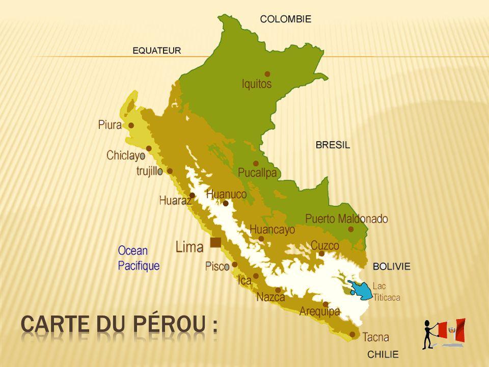 Létat péruvien a prit conscience dès 1929 que son patrimoine culturel devait être préservé.