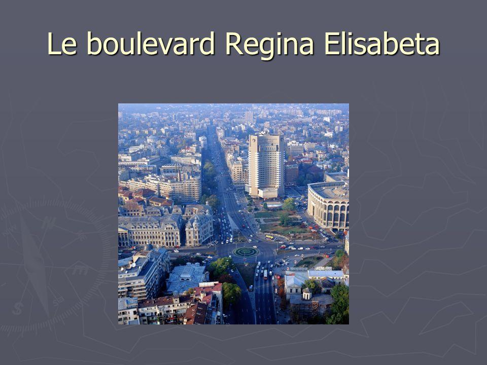 Le boulevard Regina Elisabeta
