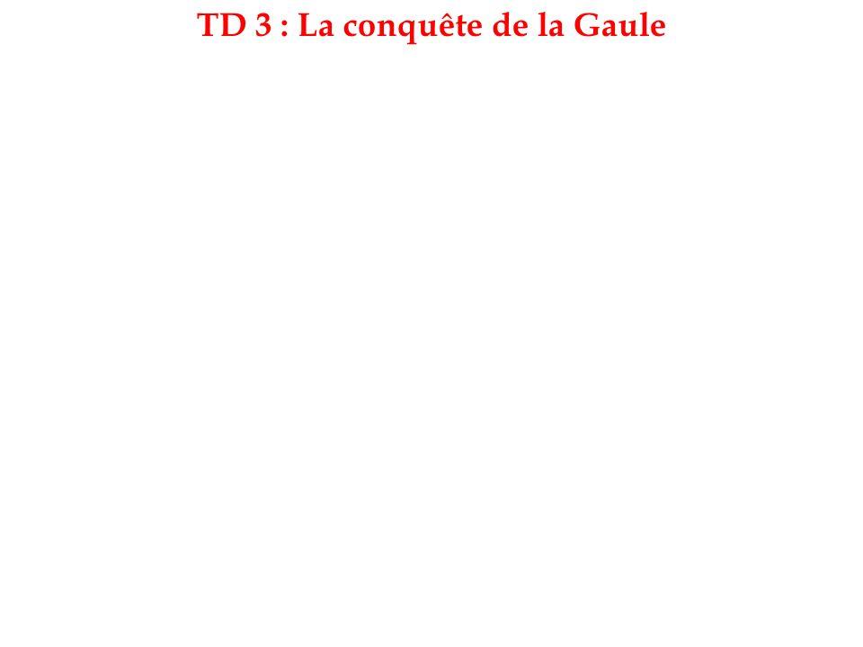 Exercice 1 :Le territoire de la Gaule.