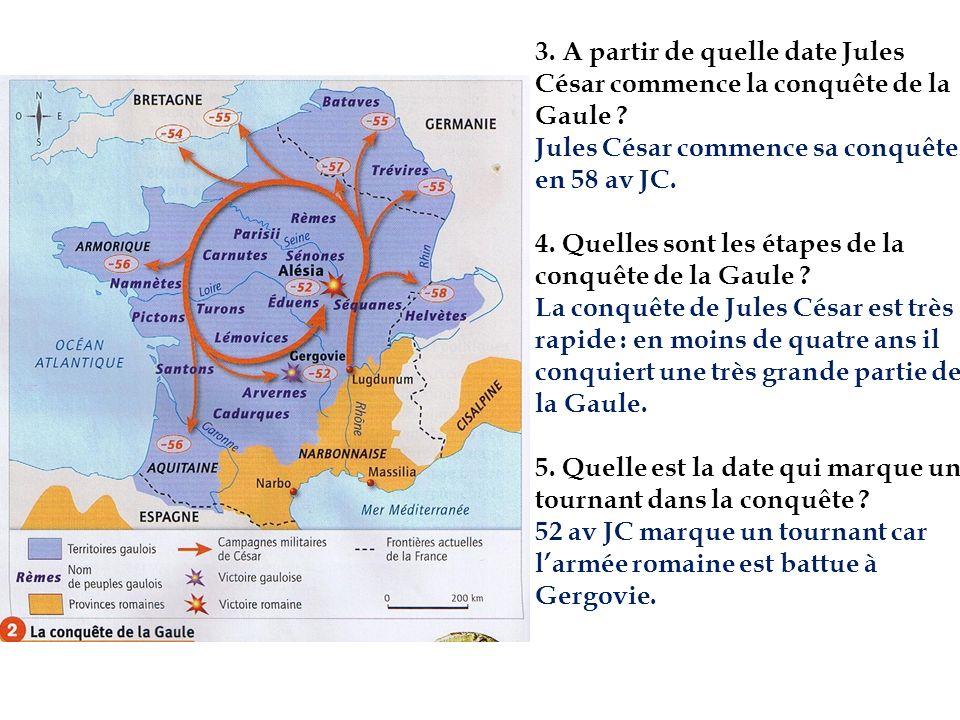 Exercice 2 :Jules César et Vercingétorix.1.