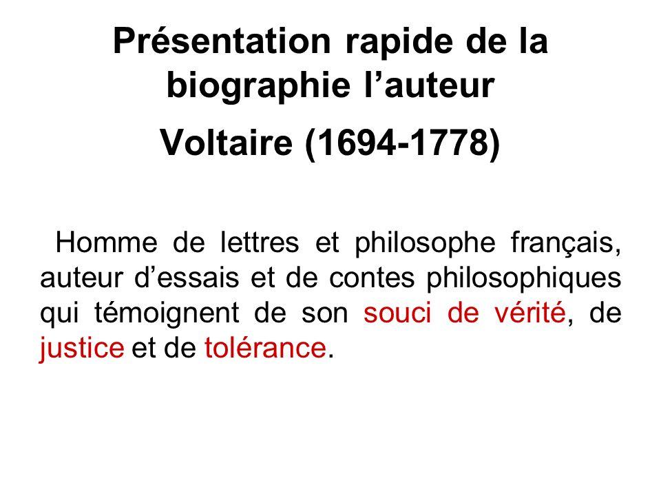 1759 : Candide, conte philosophique considéré comme lun de ses chefs doeuvre.