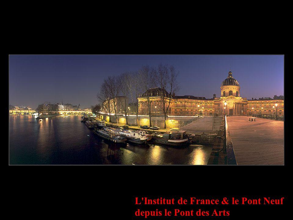L'Institut de France & le Pont Neuf depuis le Pont des Arts
