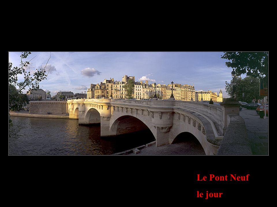 Le Pont Neuf le jour