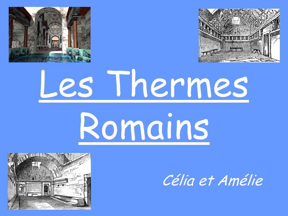 Nous allons vous faire visiter les thermes Romains.