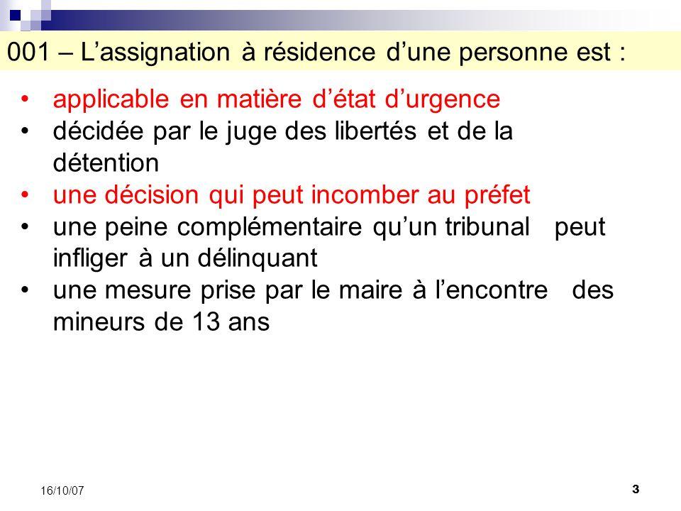 54 16/10/07 A.ladministration des douanes B.