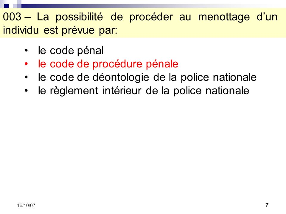 88 16/10/07 A.passeport B. carte didentité C. carte vitale D.