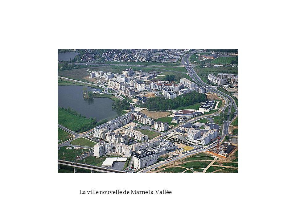 La ville nouvelle de Marne la Vallée