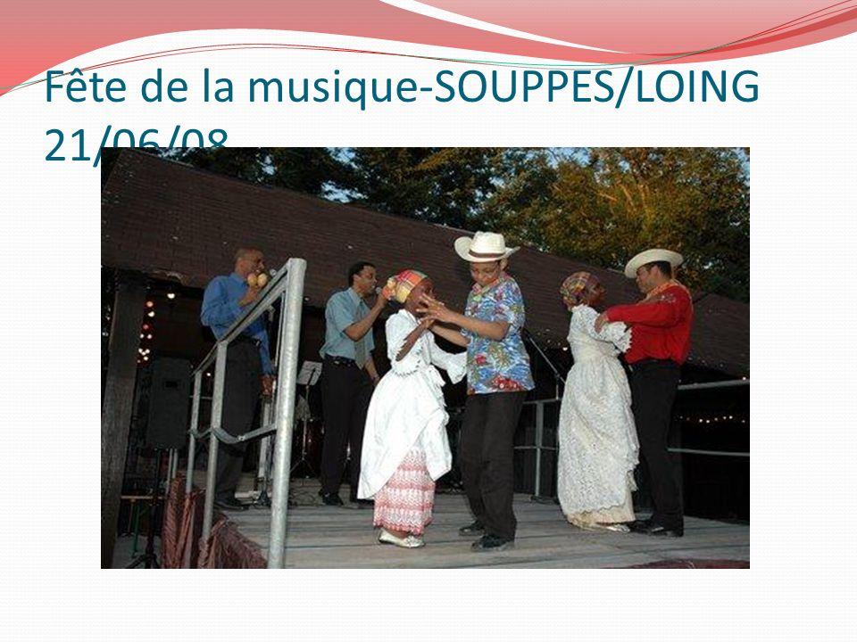 Fête de la musique-SOUPPES/LOING 21/06/08