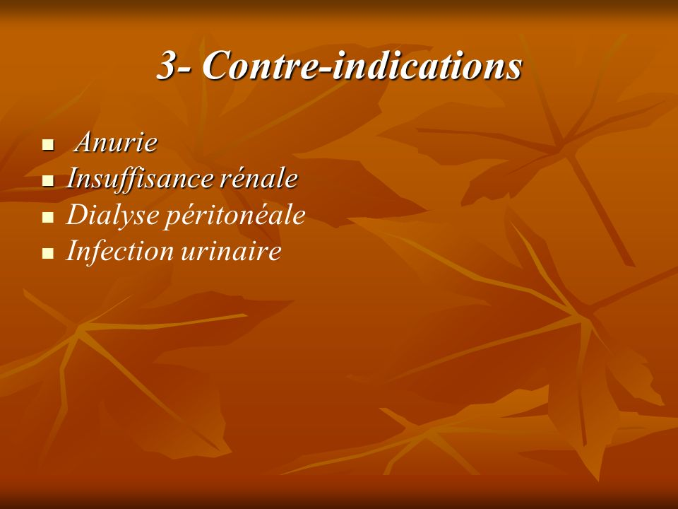 4- Incidents et accidents - Cystite - Cystite - Infection - Infection - Dysurie, pyurie - Dysurie, pyurie - Fissuration vésicales - Fissuration vésicales - Hématurie - Hématurie