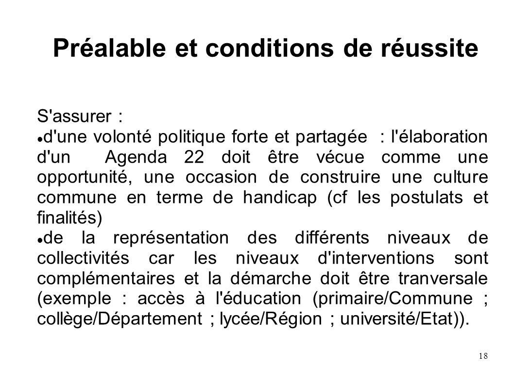 19 Mettre en place : des instances décisionnelles (élus), de pilotage (représentants des 4 colléges cf p.