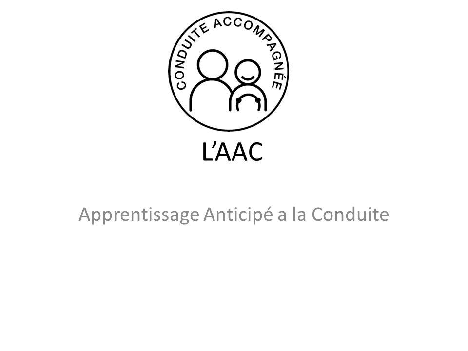 LAAC Apprentissage Anticipé a la Conduite