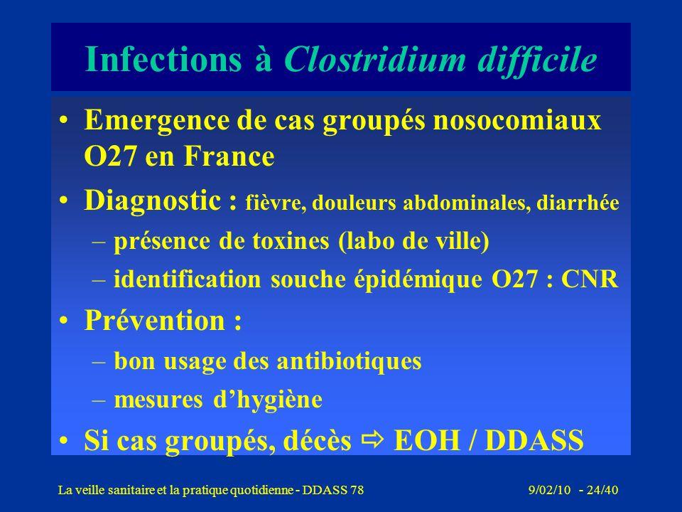 9/02/10 - 23/40La veille sanitaire et la pratique quotidienne - DDASS 78