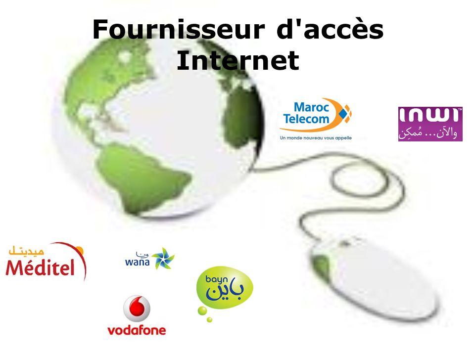 Fournisseur d'accès Internet