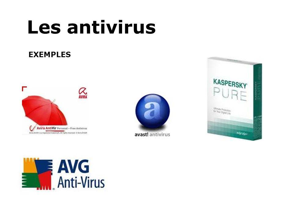 Les antivirus EXEMPLES