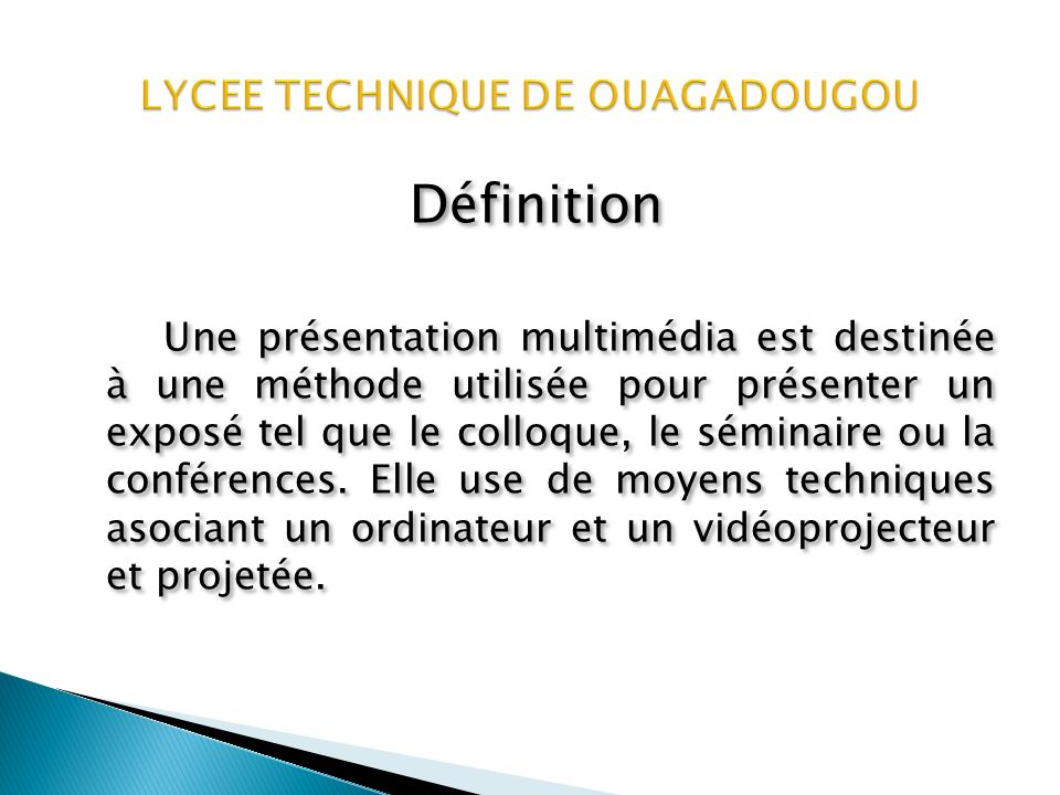 Présentation des matières Electronique F2 Cette formation permet de préparer un diplôme de technicien en 3 ans.