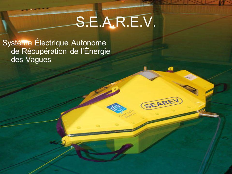 S.E.A.R.E.V. Système Électrique Autonome de Récupération de lÉnergie des Vagues