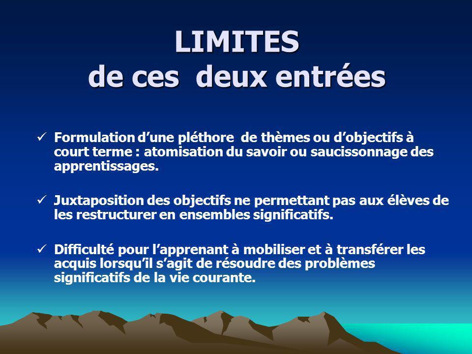 Le contenu matière Le contenu matière le savoir propre à une discipline Exemples: ladjectif qualificatif, le mètre, lempire du Mali…