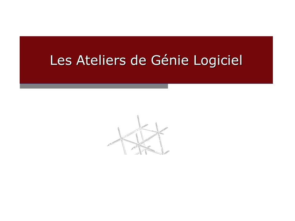 christophe.tricot@univ-savoie.fr Les Ateliers de Génie Logiciel