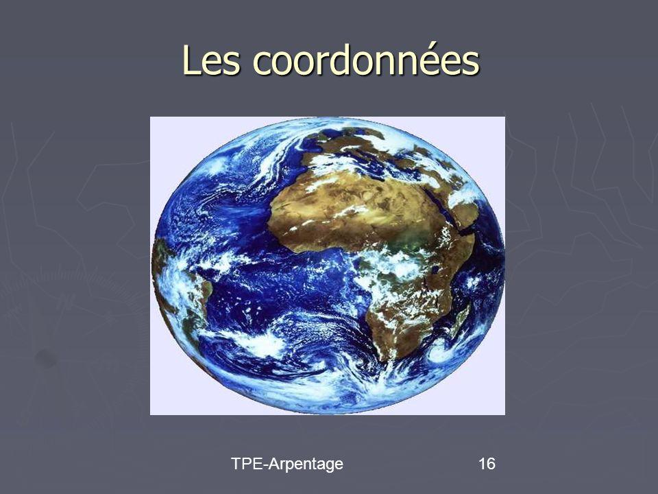 TPE-Arpentage16 Les coordonnées
