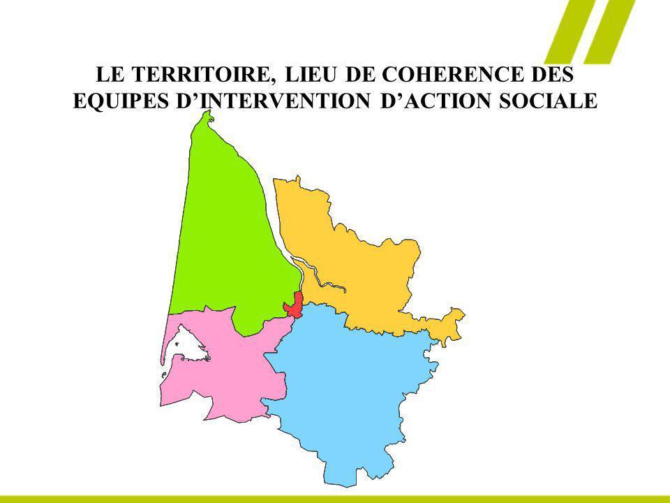 LE TERRITOIRE, LIEU DE COHERENCE DES EQUIPES DINTERVENTION DACTION SOCIALE