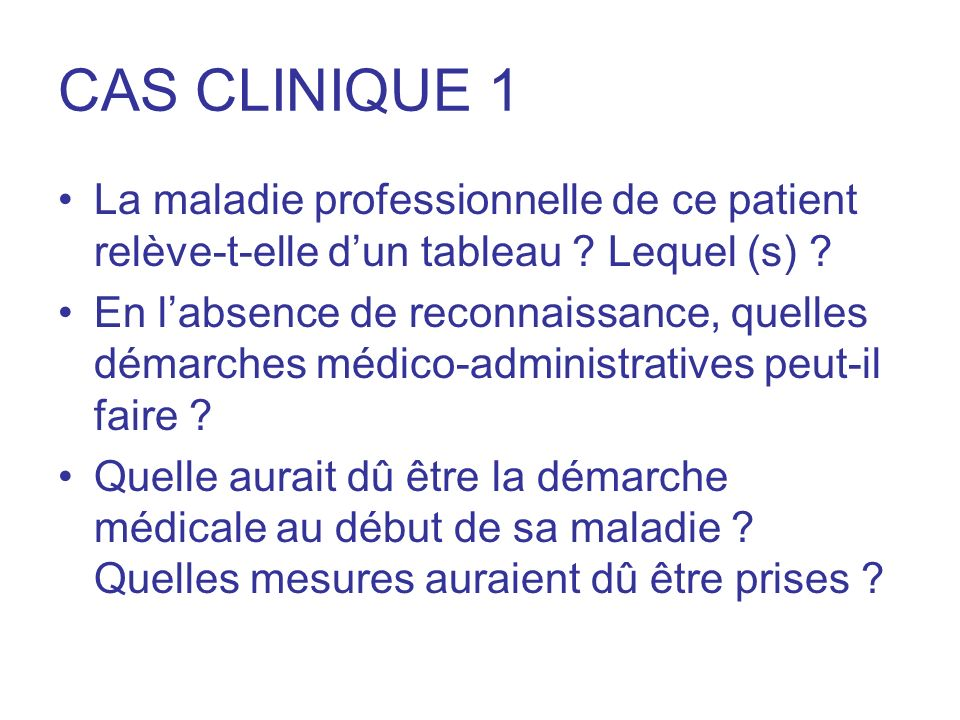 CAS CLINIQUE 2 JF 25 ansJF 25 ans Tabac = 0Tabac = 0 Etudiante.