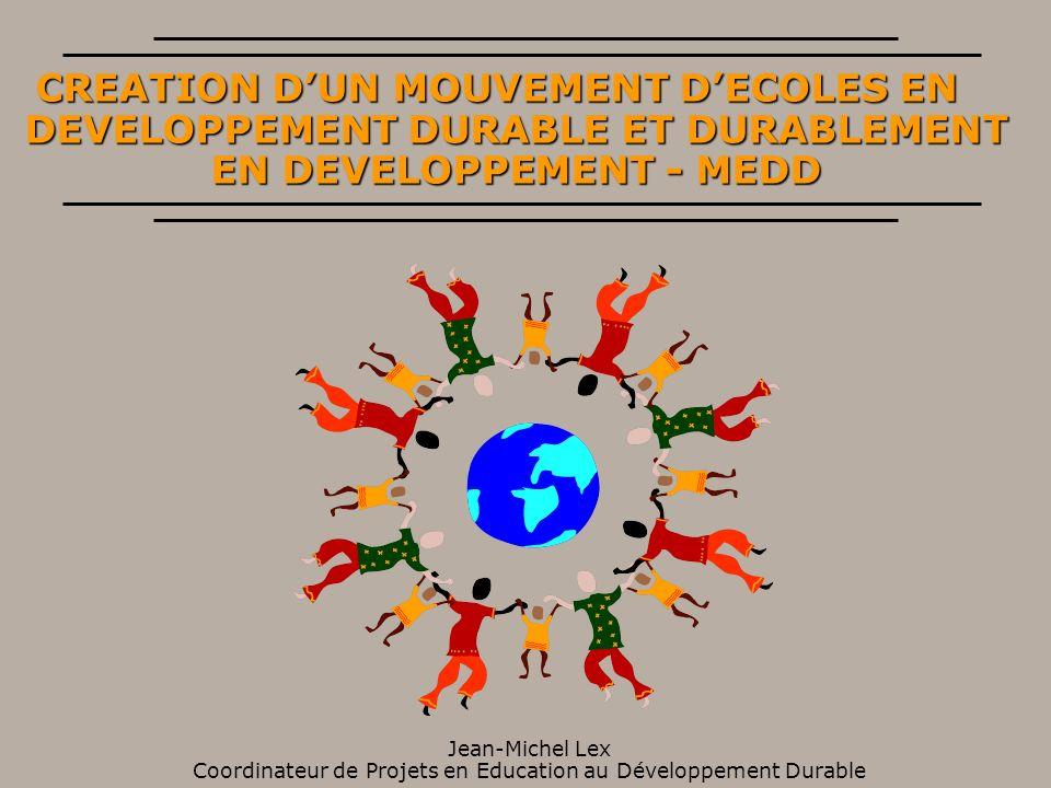 LE DÉFI MONDIAL DE L ÉDUCATION POUR LE XXI ÈME SIÈCLE la gestion rationnelle des ressources l accès équitable aux ressources la préservation des écosystèmes la promotion et la protection de la santé l amélioration de la qualité de vie le choix d une économie au service de l homme, équitable et soutenable la concertation et le dialogue entre les peuples le rôle des femmes, la démographie, les droits de lhomme le rôle des enfants et des jeunes
