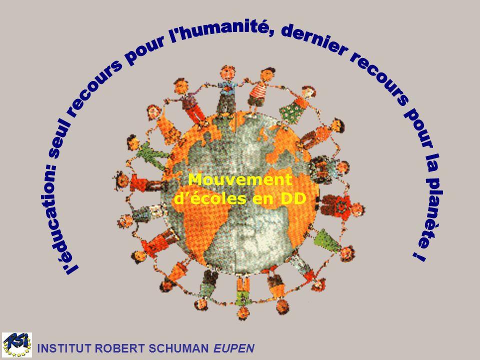 Mouvement décoles en DD INSTITUT ROBERT SCHUMAN EUPEN