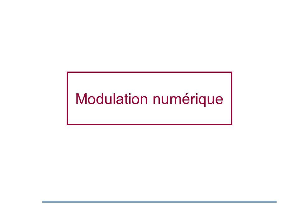 Transmission numérique Avantages techniques Immunité au bruit Optimalisation de la bande passante Facilité de traitement de linformation Optimisation des coûts Séparation dune application en sous-ensembles Utilisation de composants à grande tolérance