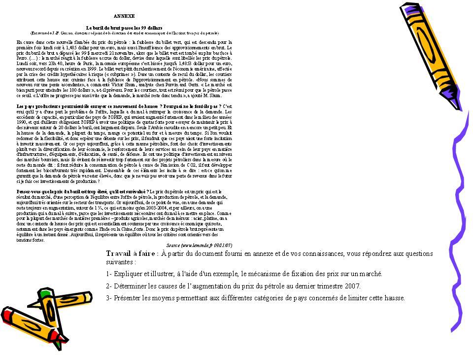 Savoir exploiter les documents proposés et donc maîtriser les méthodes danalyse de ces documents Repérer les différentes parties du texte (en utilisant le marquage du document) Sous-titres, Paragraphes (lidentification des paragraphes permet de dénombrer le nombre didées développées) Mots clés, phrases mis en valeur par des caractères gras, des soulignements Mots de liaison entre les paragraphes pour comprendre la cohérence du texte