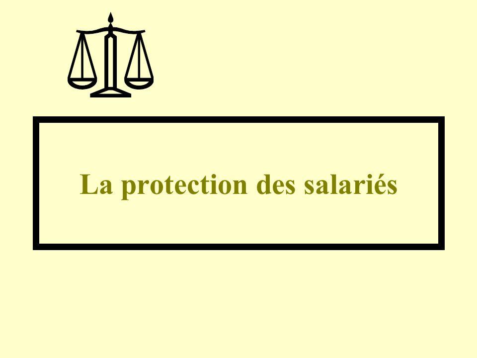 La protection des salariés