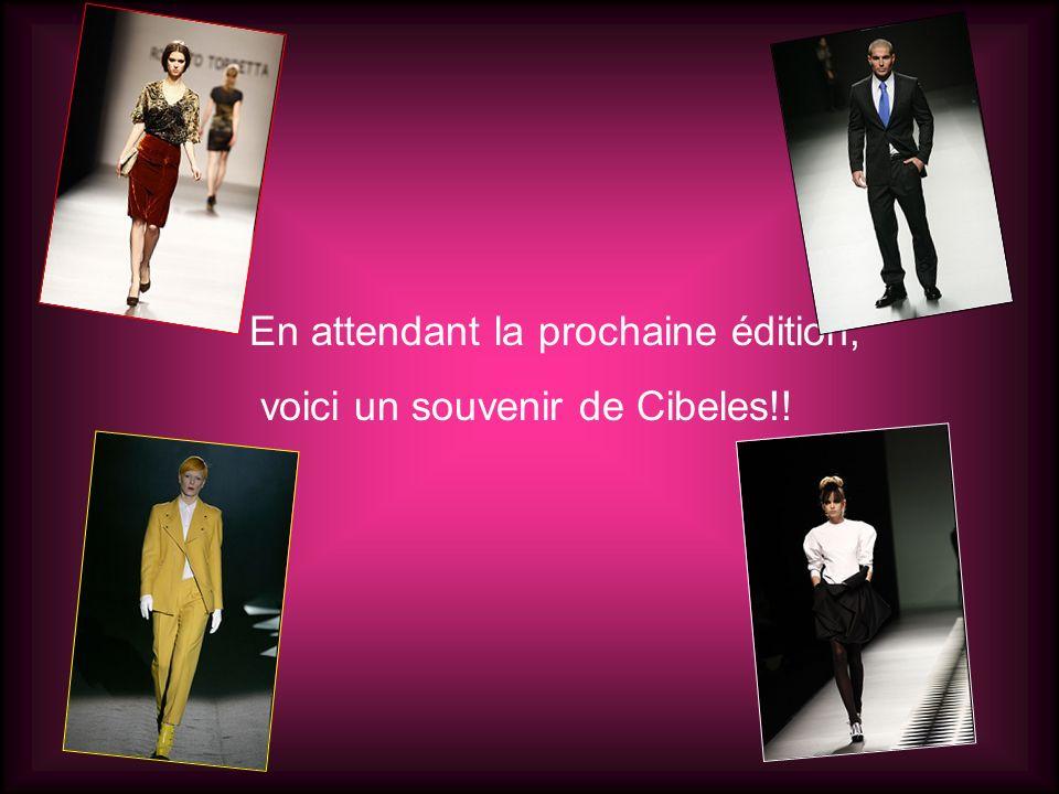 En attendant la prochaine édition, voici un souvenir de Cibeles!!