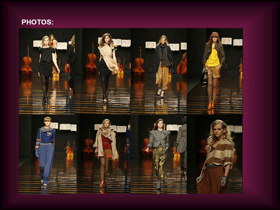 CARMEN MARCH: Carmen March a étudié Dessin de Mode dans l IADE à Madrid.