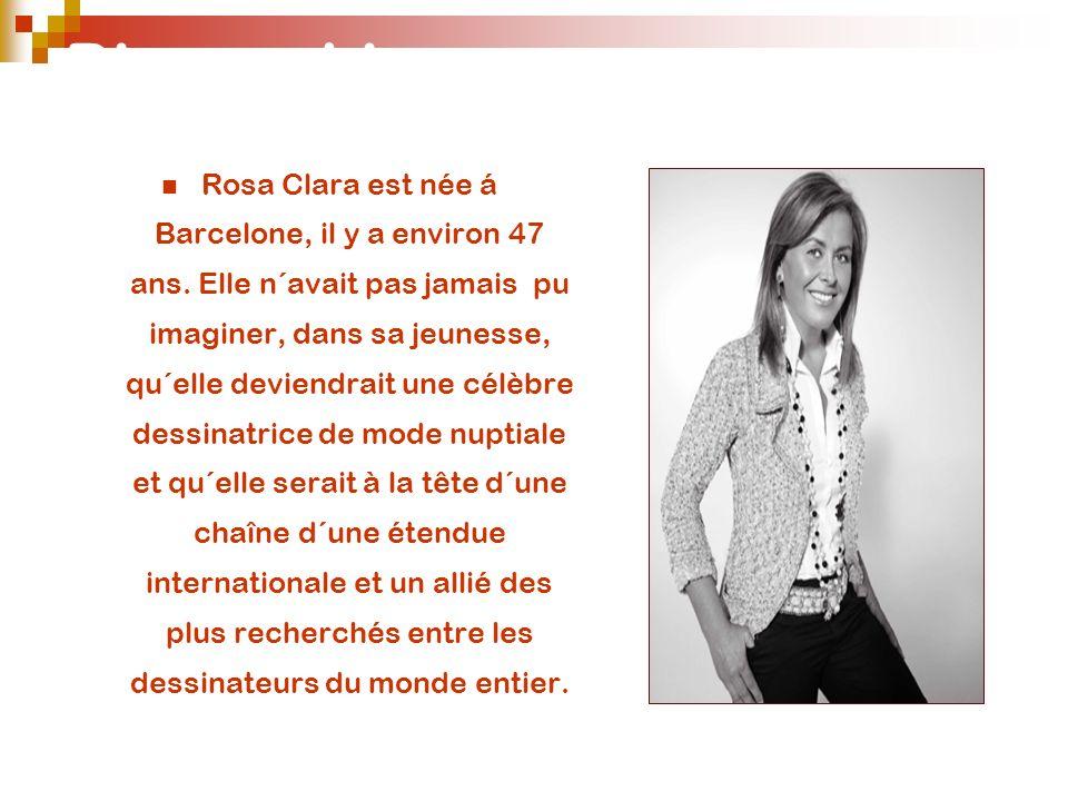 Biographie Rosa Clara est née á Barcelone, il y a environ 47 ans. Elle n´avait pas jamais pu imaginer, dans sa jeunesse, qu´elle deviendrait une célèb