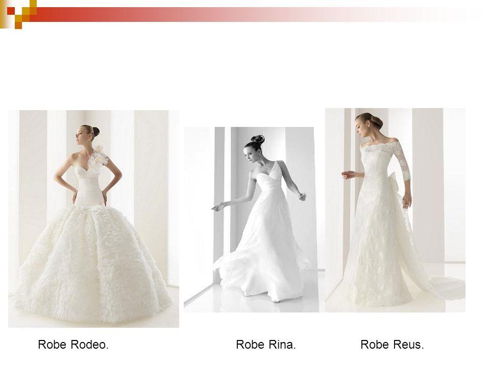 Robes de mariée collection 2010. Robe Rodeo. Robe Rina.Robe Reus.