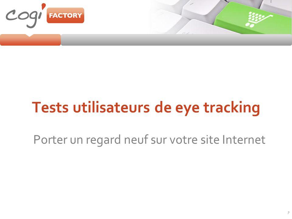 Etude type de eye tracking PERTECH Retrouvez la méthodologie de tests eye tracking pertech sur http://www.pertech.fr/tests-utilisateurs-eye-tracking.html